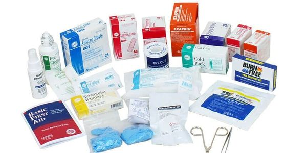Refill supplies for both for the Life Safety Kit and for the traditional first aid kits.