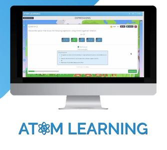 Atom Learning partner, 11 plus tutor, online tests, school admissions