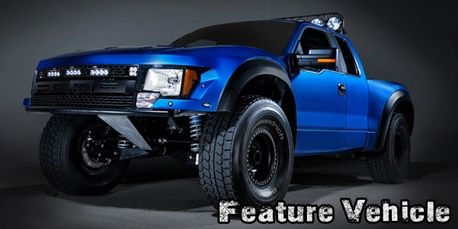Andy McMillin's Ford Luxury Prerunner