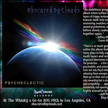 """Psycheclectic"" Obscured By Clouds™ © 2009 William Weikart © ℗ Psycheclectic Global (BMI)"