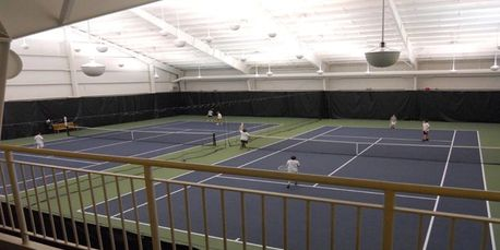 Indoor Tennis Lighting Smart Services HVAC Electric Plumbing Refrigeration