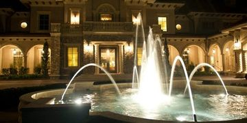 Fountain Lighting  Smart Services HVAC Electric Plumbing Refrigeration
