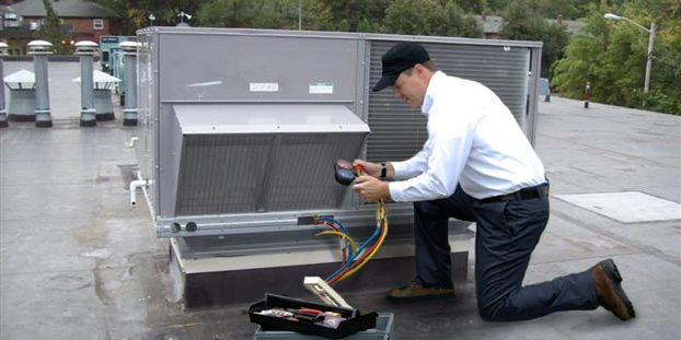 Commercial and residential HVAC repair  Smart Services HVAC Electric Plumbing Refrigeration