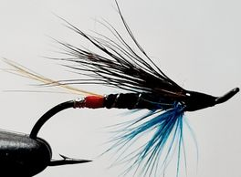 salmon fly Blue Charm fly tying fishing guide fly fishing St. John's salmon
