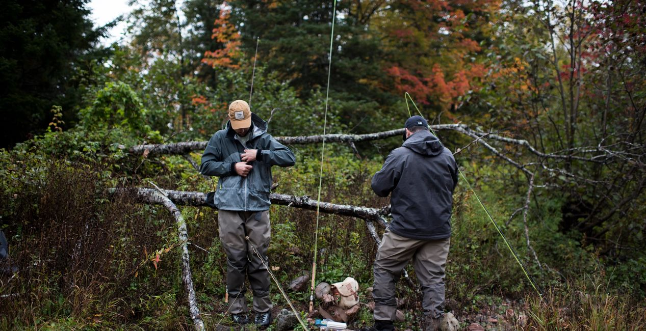 fly fishing  guides lessons  St. John's Newfoundland guiding spey