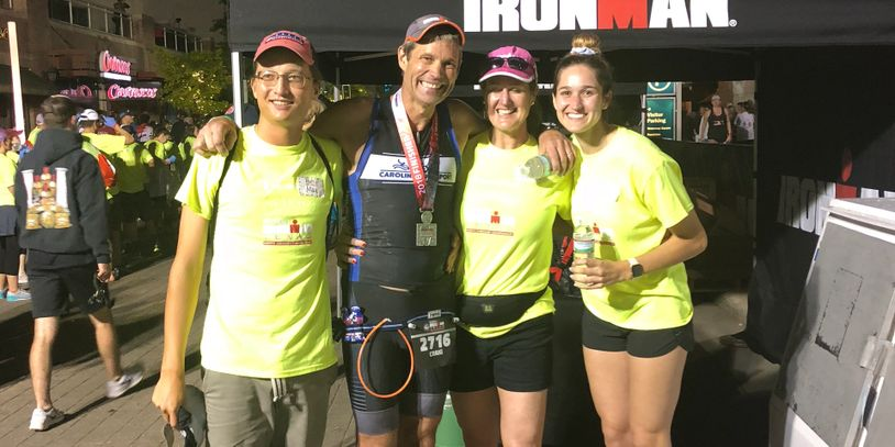 Congratulations to Craig Kennedy on finishing his 9th Ironman at Ironman Texas!