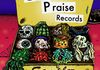 Give Praise Records sampler cd cover, 2015