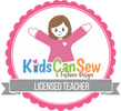 Licensed Kids Can Sew Instructor
