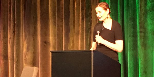 Geena Davis at #portrayher Global Symposium Google