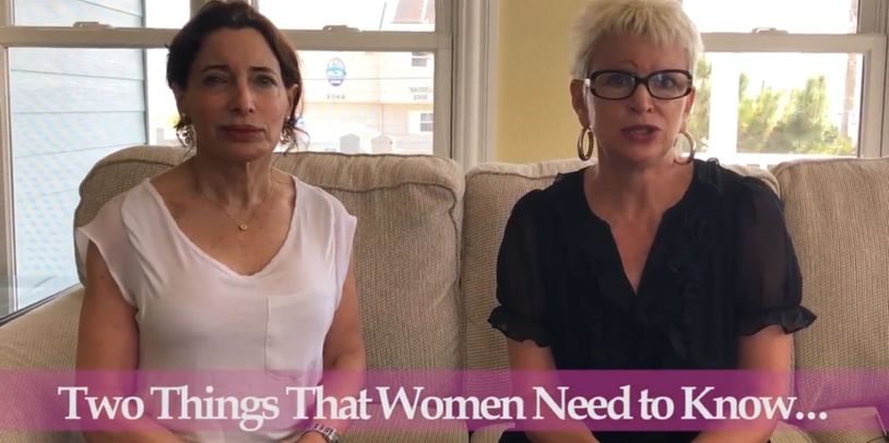 CUSWF series, Two Things That Women Need to Know, Leslie Wolf-Creutzfeldt and Dr Melinda Wolf.