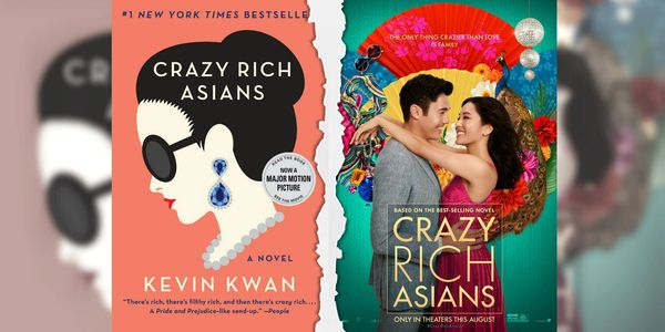 Crazy Rich Asians book covers