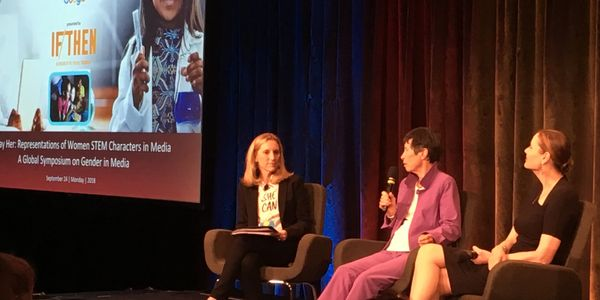 Nicole Small, Lyda Hill, Lyda Hill Foundation,Geena Davis, Geena Davis Institute on Gender in Media