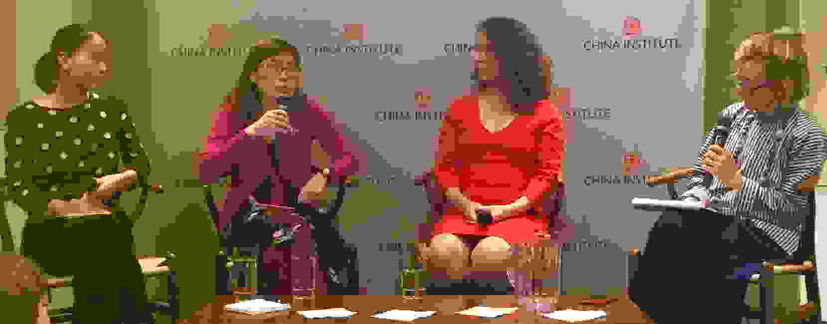 China Institute's Dinda Elliott, Leta Hong Fincher, Betraying Big Brother, Lu Pin, Feminist Voices