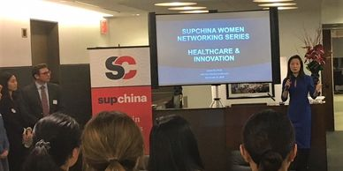 SupChina's Women's Montlhly Netowkr Series on Healthcare and Innovation, Dr Ingrid Yin