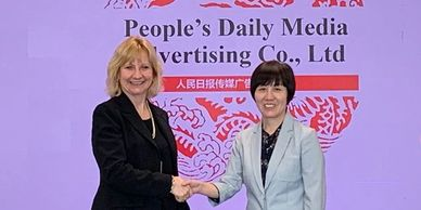 CUSWF partners with People's Daily in Beijing
