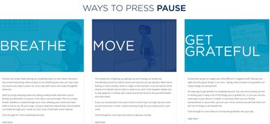 JED Foundation and MTVU partnered on Press Pause for ways to reduce stress