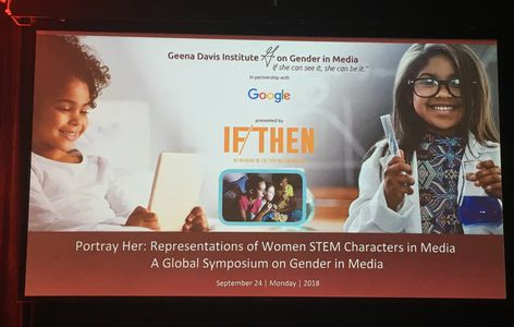 Geena Davis Institute on Gender in Media and the Lyda Hill Foundation Gloabl Symposium