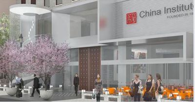 China Institute, shown with planned renovations, 100 Washington Street, New York, NY 10006