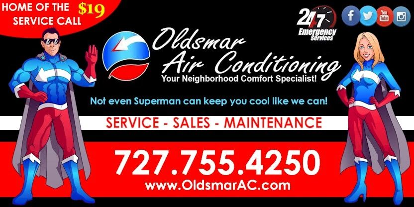 OLDSMAR AIR CONDITIONING REPAIR, SERVICE, INSTALLATION EXPERTS