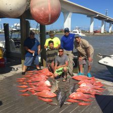 Offshore Gulf Coast fishing trip, Private Texas fishing charters, Texas deep sea fishing,Red snapper