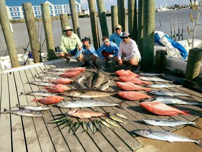 Epic day of offshore fishing for these anglers during their guided fishing trip out of Freeport Tx.