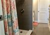 New Large Walk-in Shower