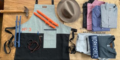 Handmade in USA goods by Workforce by Inseam