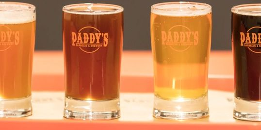 A flight from Paddy's