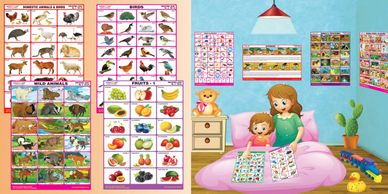 Exclusive Spectrum Educational Wall Charts