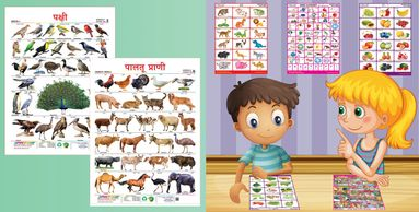 Contains Spectrum Charts in Hindi, Marathi, Gujarati, Bengali and many other Indian Languages.