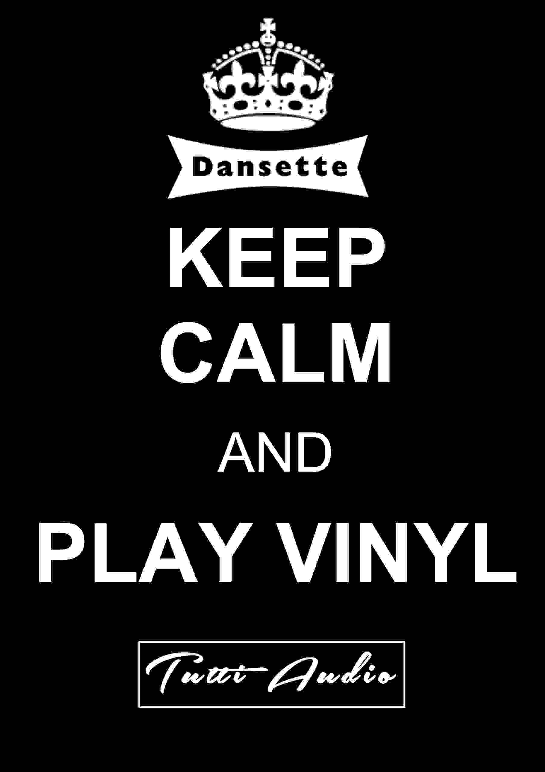Keep Calm and enjoy a Dansette record player from Tutti Audio