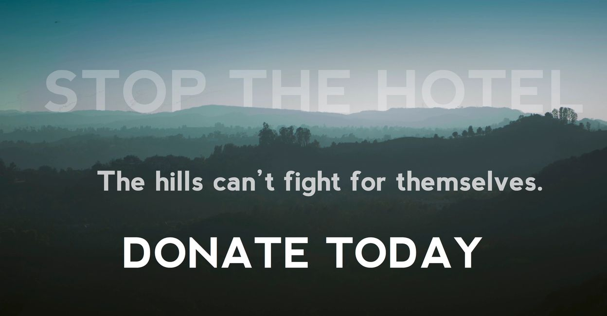 Stop The Hotel Give Today
