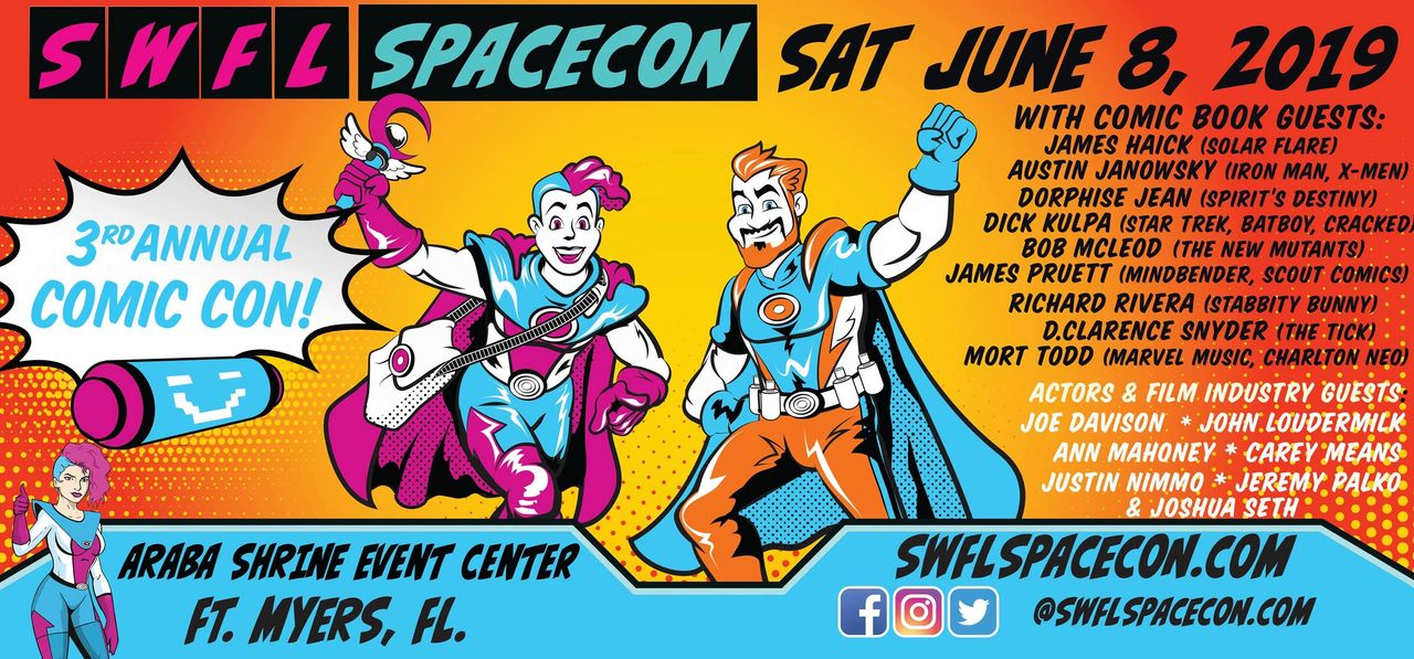 Upcoming Event: SWFL Spacecon -An Interview with M  Wassall