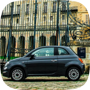 location de voitures fiat 500 en libre service à paris 15
