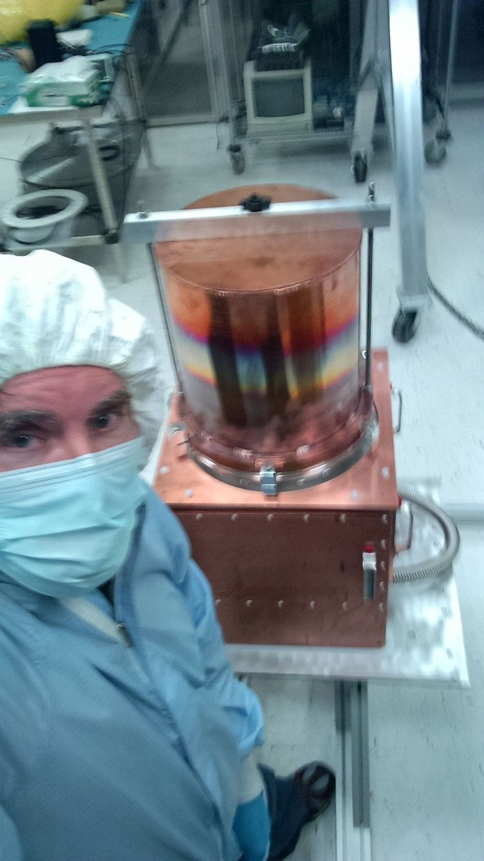 First experimental discovery of Dark Matter unleashes a viral probe from the Dark Matter Universe!