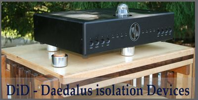 Daedalus Isolation Devices (DIDs) will improve the sound of any electronics.
