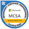 MS Certified Security Assurance Windows Server 2016