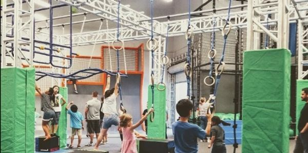 NInja Warrior, body and mind camp. Kids get physical and get a great workout.