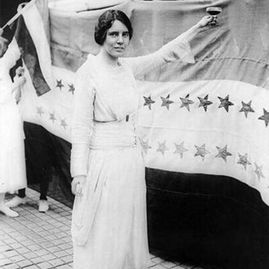 Image of radical suffrage Alice Paul