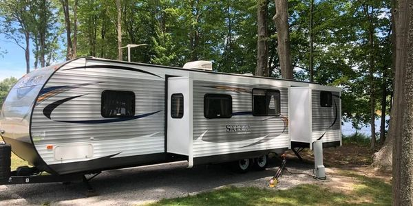 camper rental, dune harbor, silver lake resort and campground, silver creek RV Resort, Sandy shores campground, jellystone yogi, pure Michigan camping, silver lake sand dunes,