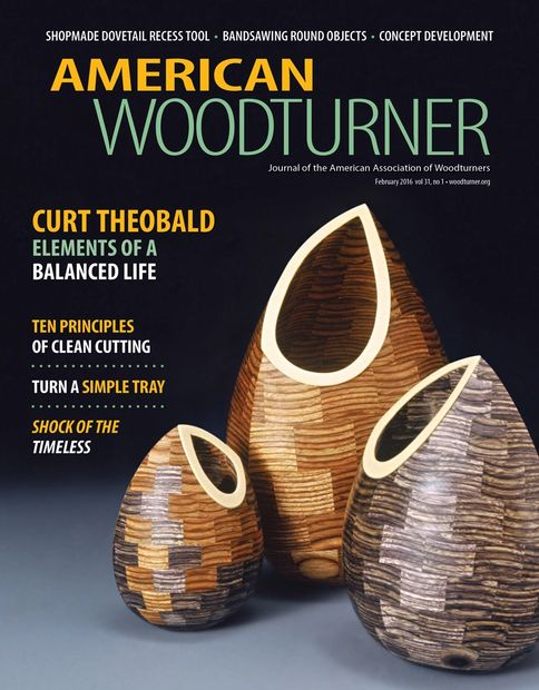 American Woodturner/ Curt Theobald/ Elements of a Balanced Life
