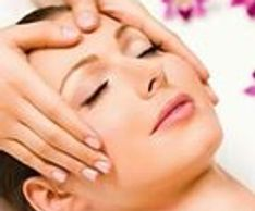 face, head and neck massage for relaxation and tension