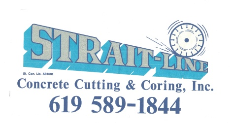 Strait Line Concrete cutting and Coring Inc.