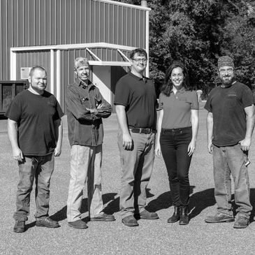 Turner Fabrication staff outside our Nacogodhces, TX production facility,