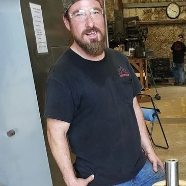 Shop Manager Rob Daniel at Turner Fabrication Machine Shop in Nacogdoches, TX
