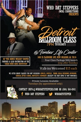 Who Dat Steppers Urban Swing Dance Institute
