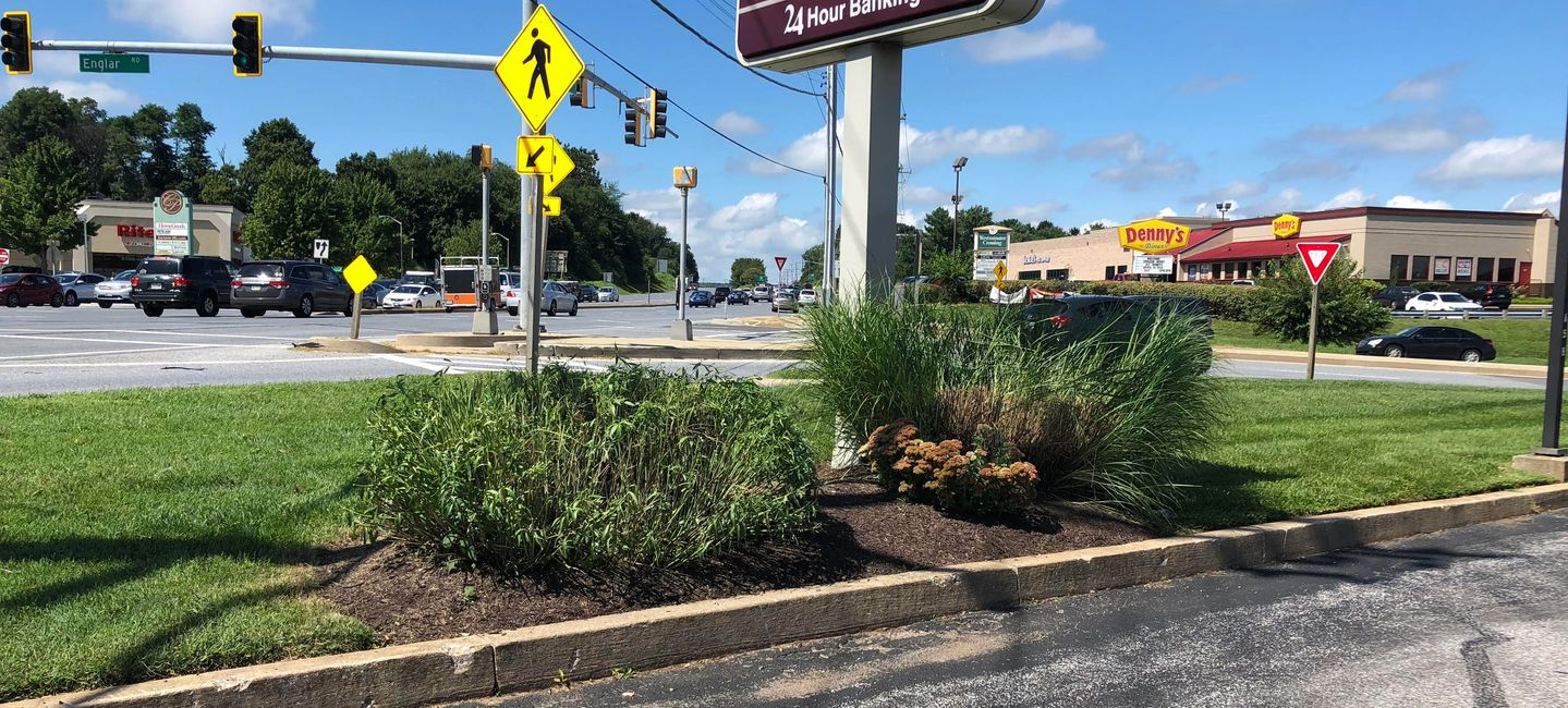 Westminster Md commercial landscape maintenance company in 21157 21158. business Intersection