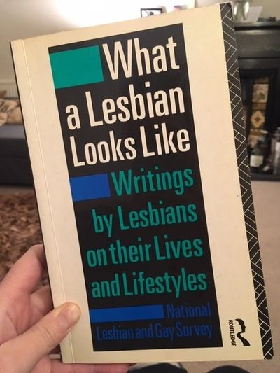 What a Lesbian Looks Like, from 1992, bought from News From Nowhere, Liverpool