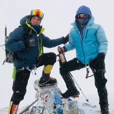 Proud to carry ORIN SWIFT up Mt Elbrus & every mountain! Thank you Dave Phinney for the support!