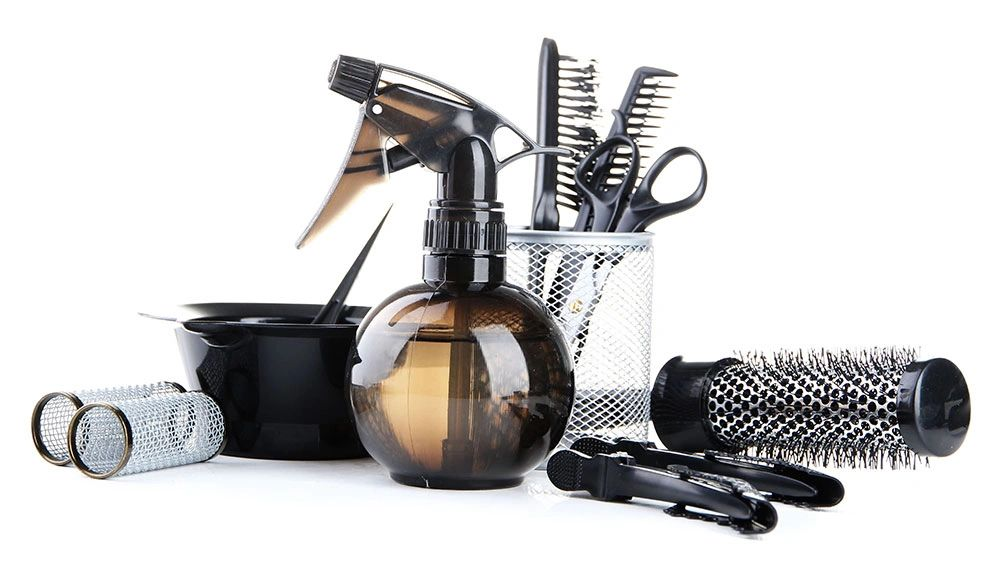 hair salon tools and equipment